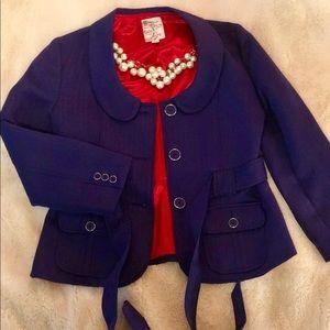 Chic purple blazer